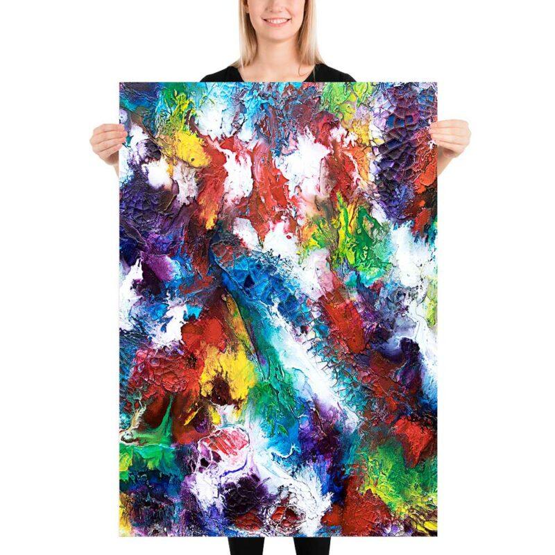 Plakate in wunderschöne Farbtöne Horizon I 70x100 cm