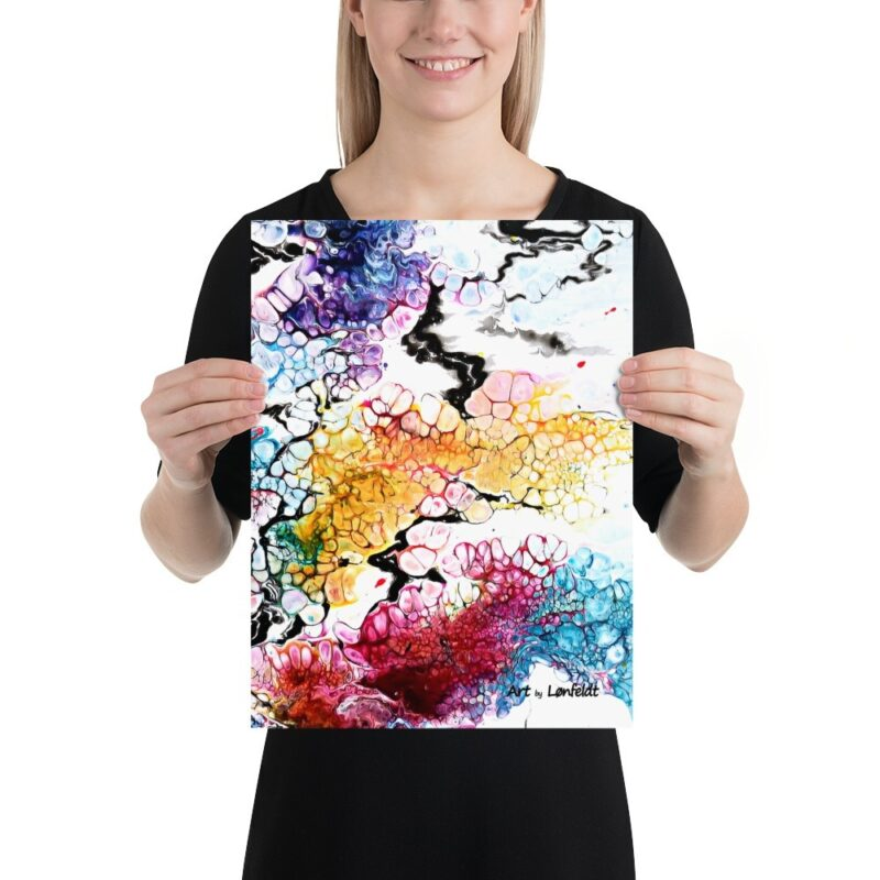 Art Prints mit Kunst Altitude I 30x40 cm