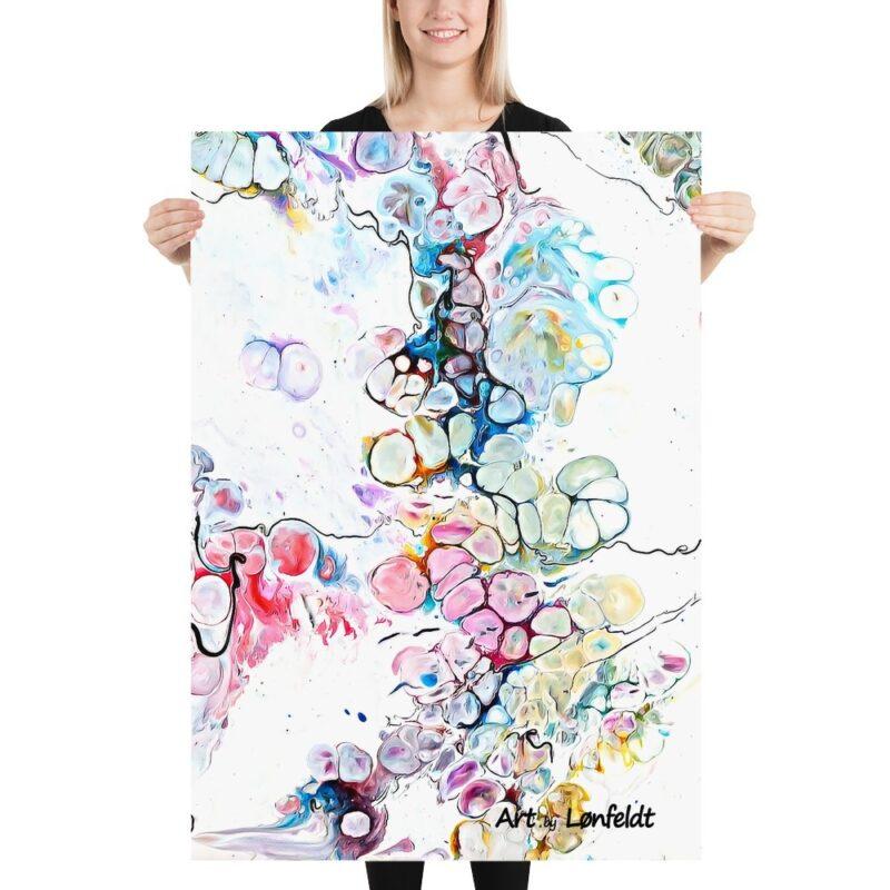 Art Prints mit Kunst Design Altitude V 70x100 cm