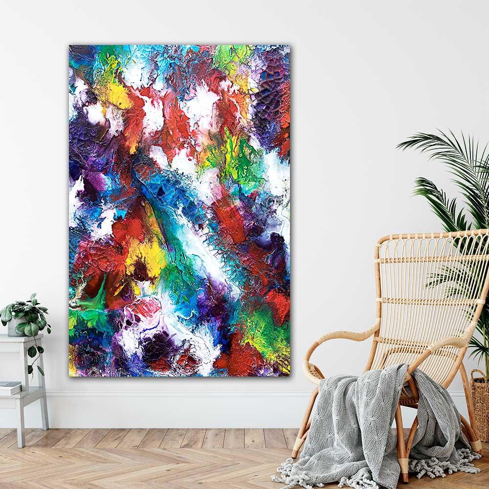 Große Wandposter XXL für die Wohnzimmerwand Horizon I 100x150 cm
