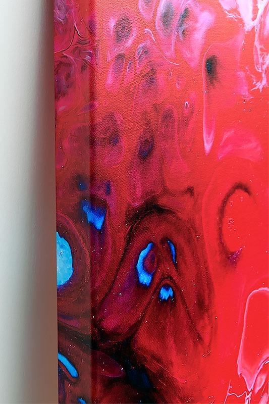 Kleine Elemente von Kunstwerk auf Leinwand Essentials II 70x140 cm