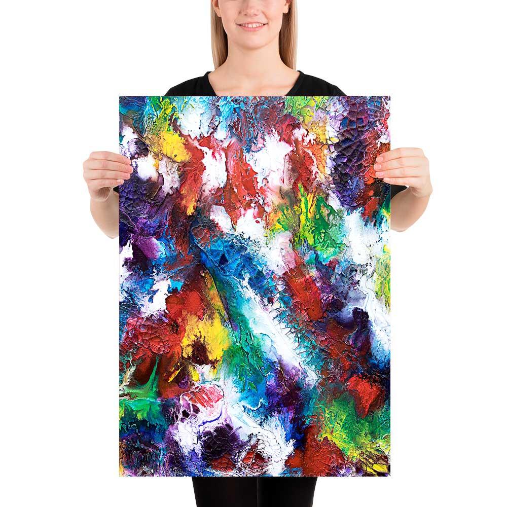 Kunst Plakate in schöne Farben und Designs Horizon I 50x70 cm