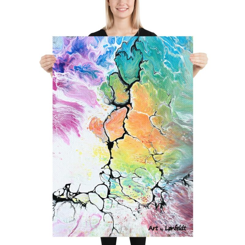 Kunst print in moderner Stil Altitude IV 70x100 cm