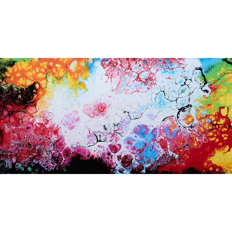 Kunstdrucke auf Leinwand online kaufen Fragments III 70x140 cm