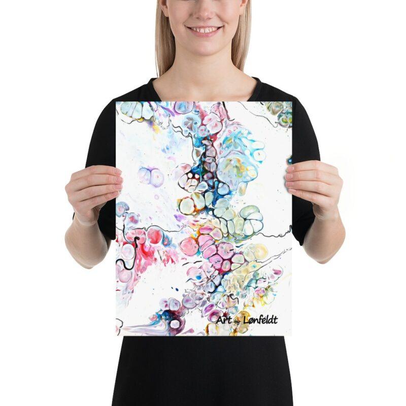 Plakat mit moderne Kunst Altitude V 30x40 cm