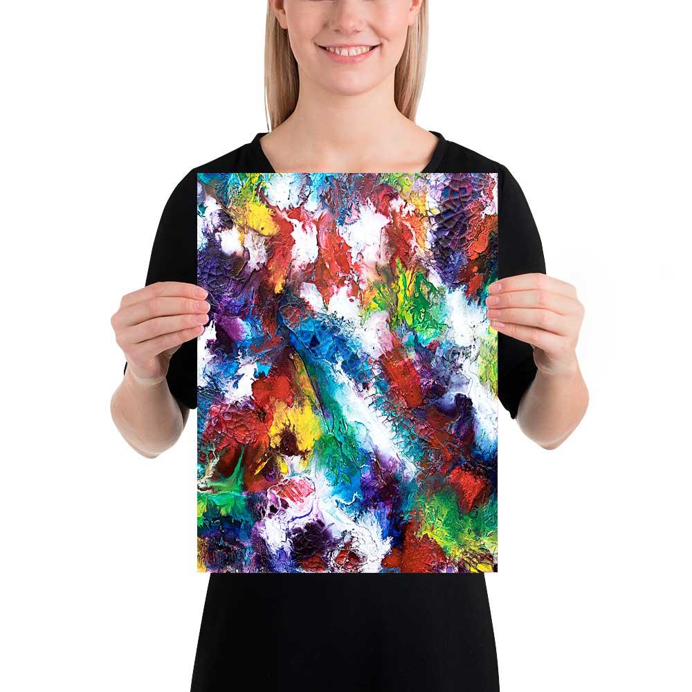 Wandplakat mit moderner Kunst Horizon I 30x40 cm
