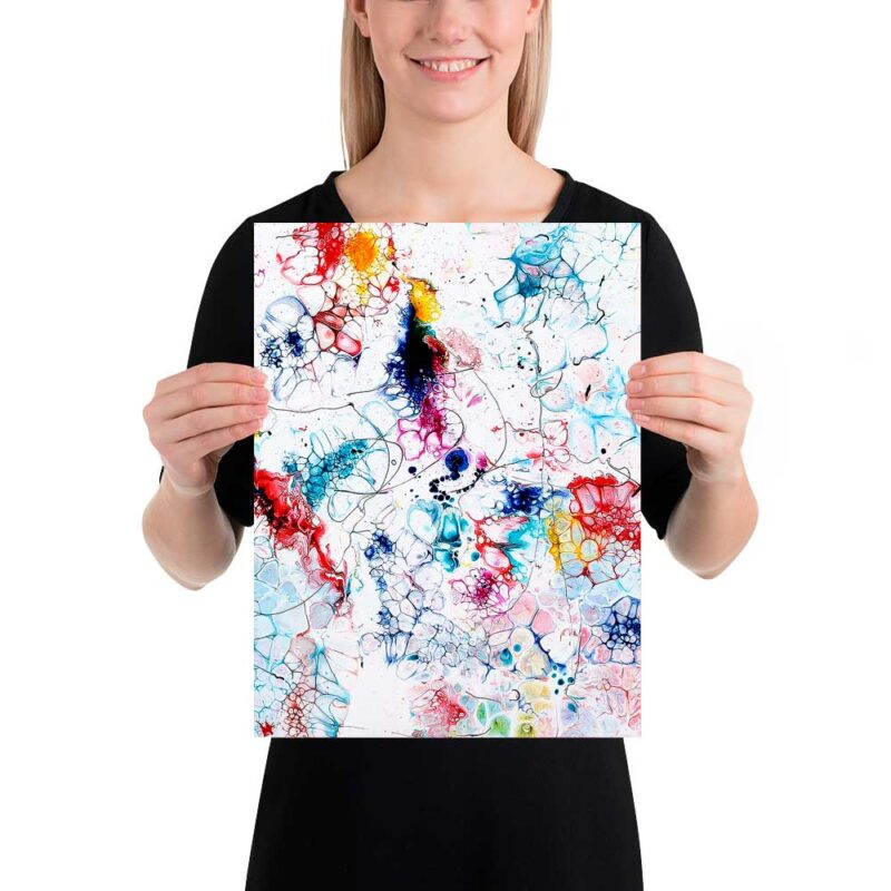 Kunst Poster direkt vom Künstler online kaufen Elevation I 30x40 cm