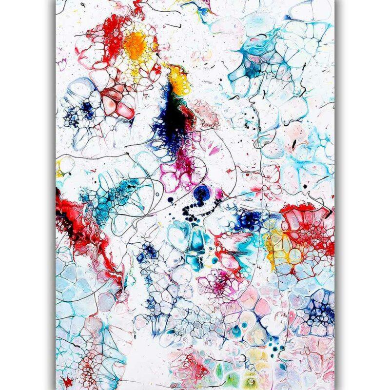 Kunst Poster in Premium Qualität mit schönen Farben zeitgemässes Design Elevation I