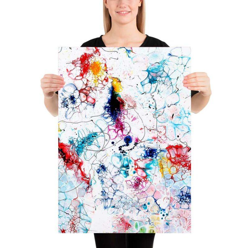 Stilvolle Kunst Poster von Künstler Michael Lönfeldt Elevation I 50x70 cm