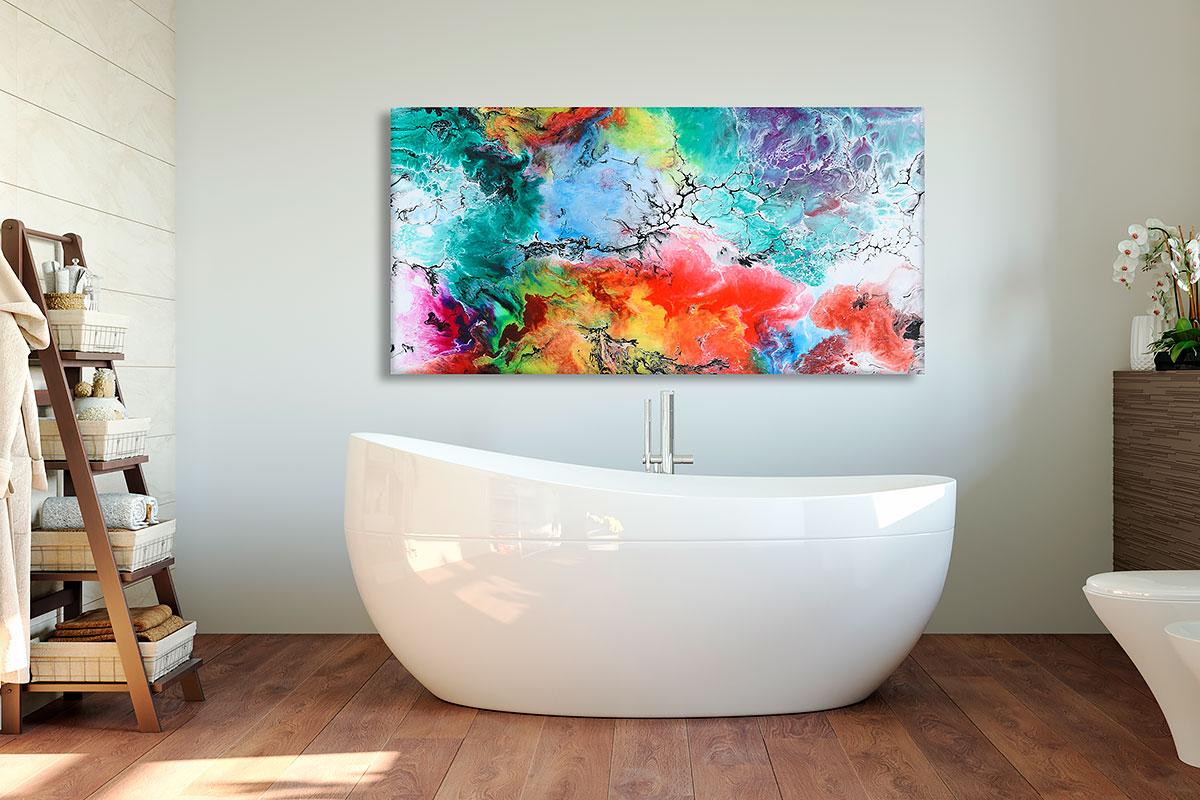 Leinwand Bilder für das Badezimmer