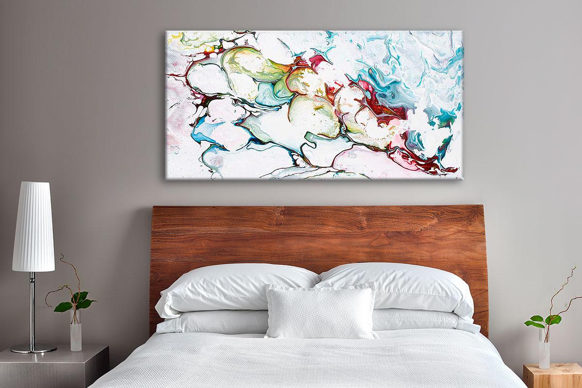Moderne Leinwanddrucke für das Schlafzimmer