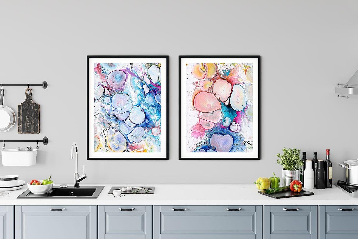 Wandposter für die Küche