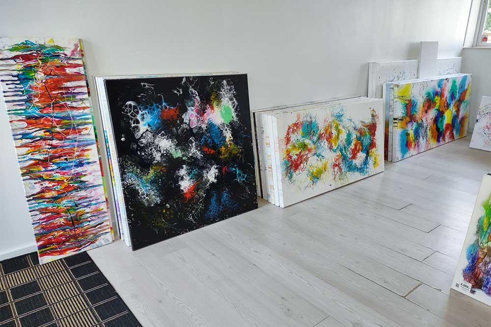 In der Galerie finde Sie alle Gemälde